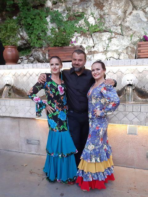 creteyourlife i nadia przed koncertem flamenco w spili