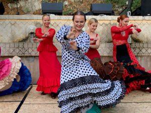 nadia mazur tańczy flamenco