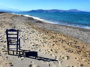 krzesło na plaży