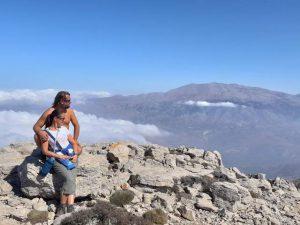 my na szczycie góry kedros