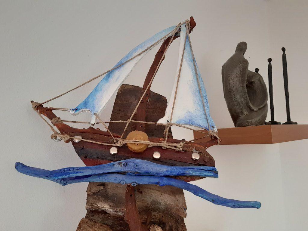 rzeźba statku