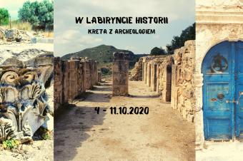 W labiryncie historii – Kreta z archeologiem